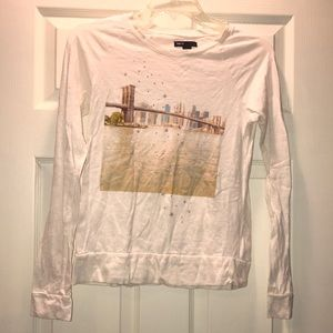 Gap Kids Skyline L/S Tee Shirt